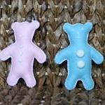 Newborn Teddy Bear Toy Baby Blue Baby Pink Felt